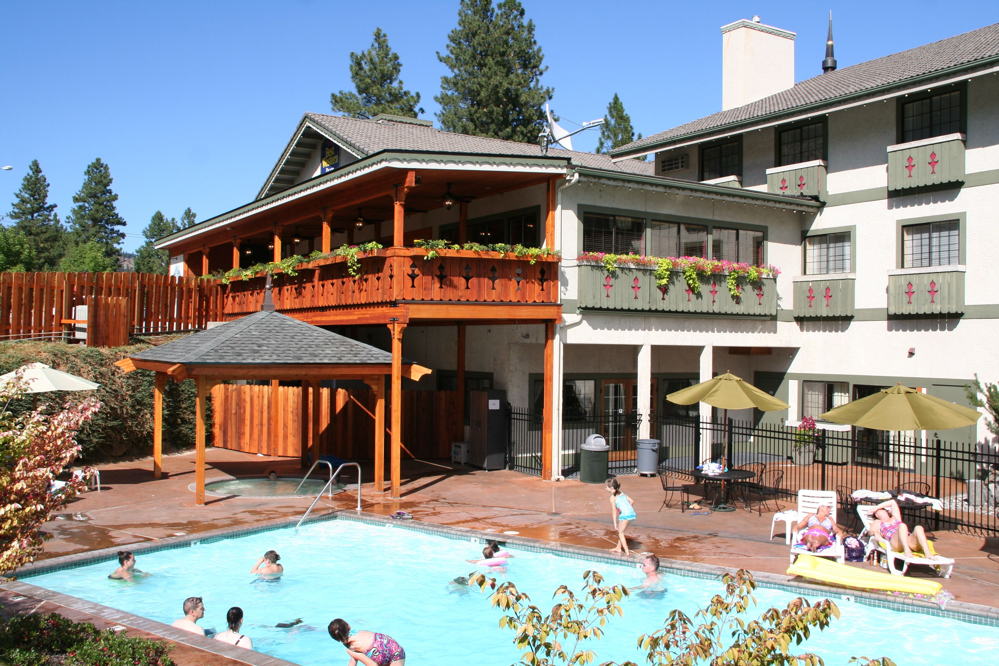 The Icicle Village Resort In Leavenworth  Swimming Pool Is