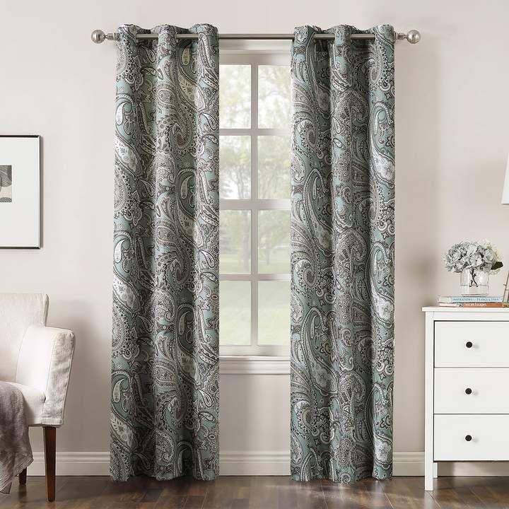 Dahlia The Big One Decorative 2 Pack Dot Window Curtain Curtains