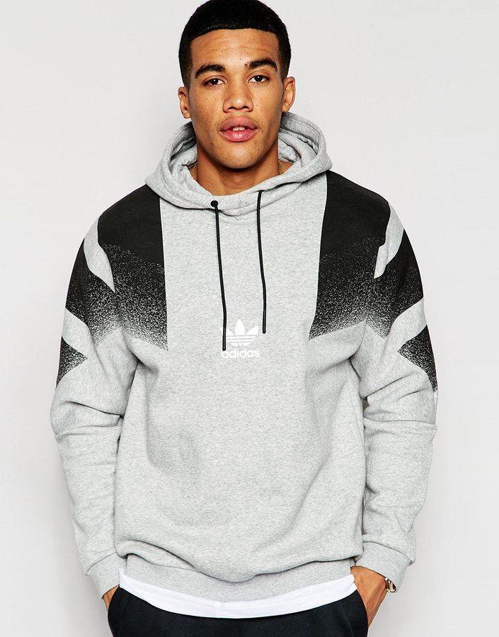 Asos Adidas Originals Retro Hoodie Aj7890 Stylish Hoodies Hoodies Adidas Outfit