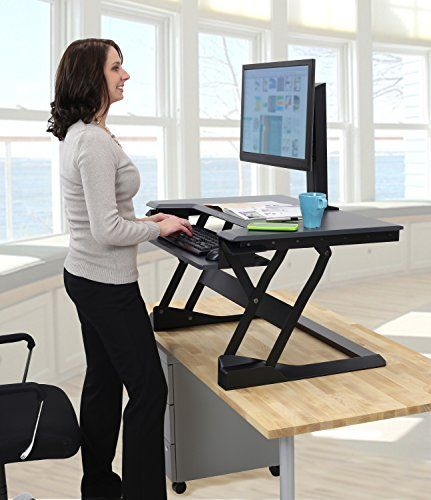 Related image | Best standing desk, Sit stand desktop ...