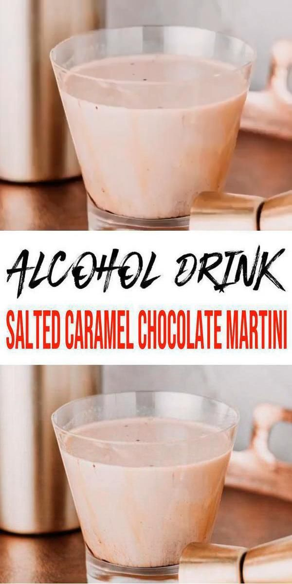 Photo of Alcoholic Drinks – BEST Salted Caramel Chocolate Martini Recipe – Easy and Simple Alcohol Drinks