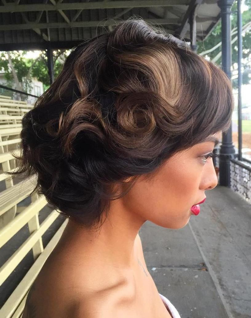 "Vintage Wedding Hairstyles 40 Best Short Wedding Hairstyles That Make You Say ""Wow""  Vintage"