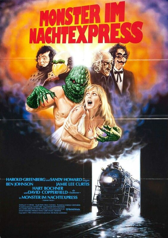terror train my horror world horror movie posters film posters
