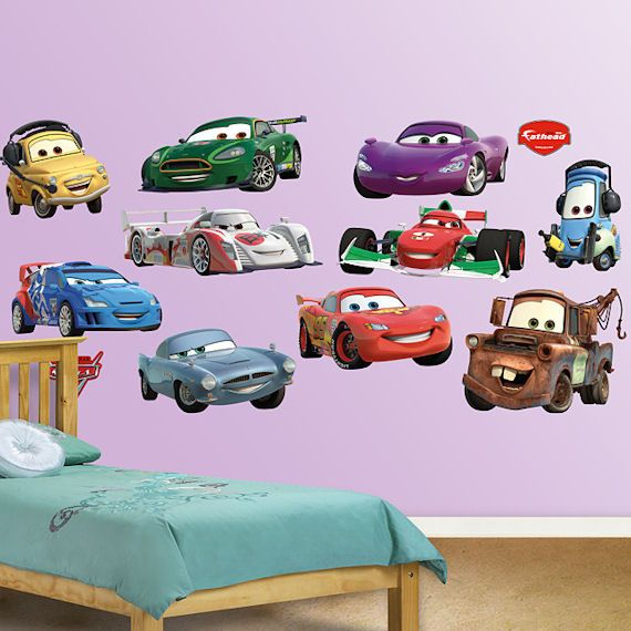 Disney Cars Collection 2 Fathead Wall Sticker   Wall Sticker Outlet