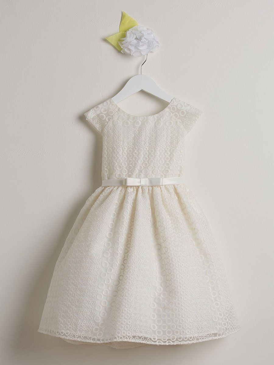 36b97e2df26 Organza embroidered Dress - Perfect for flower girl dress