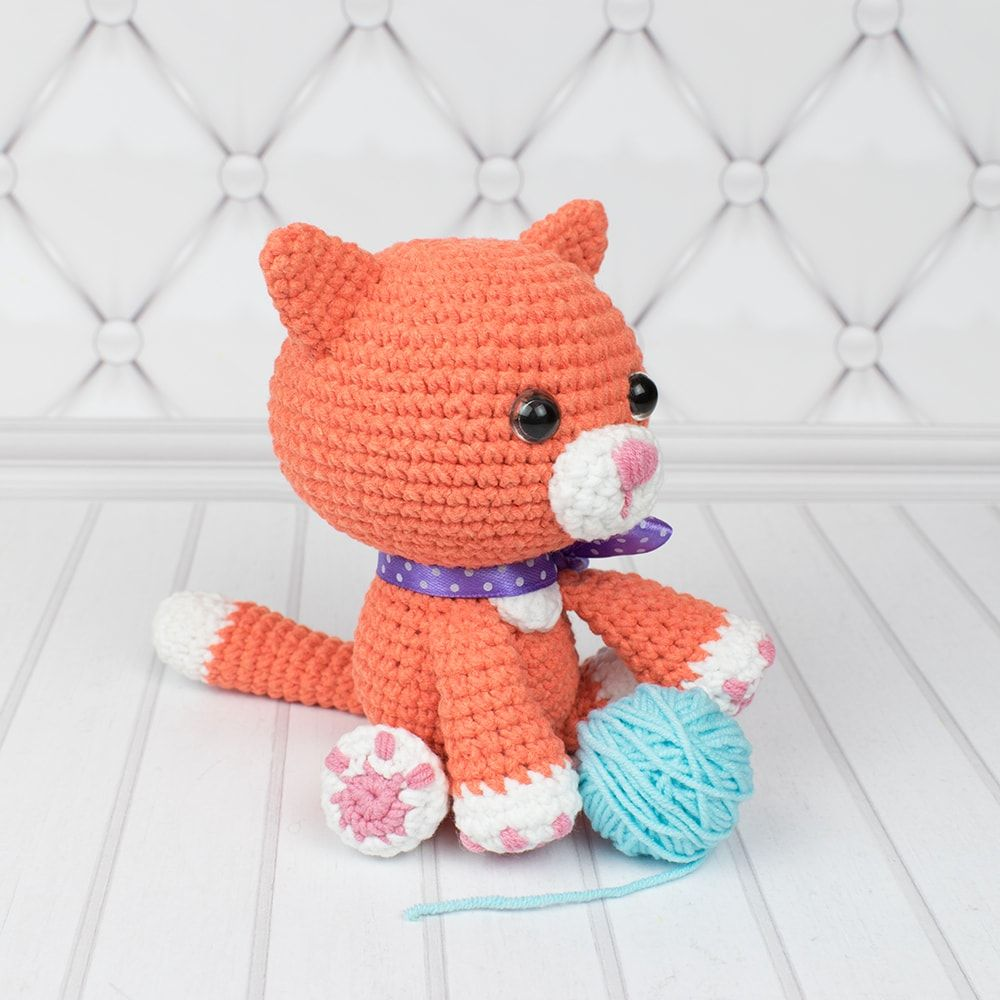 Ginger Cat Amigurumi Pattern Cat Amigurumi Crochet Cat Pattern