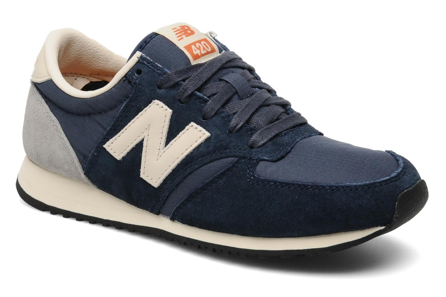 New Balance U420 W (Bleu) - Baskets chez Sarenza (171109) | Shopping ...