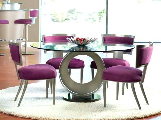 Dining Table Modern Round Dining Room Table For Good Tables Model - Glass-dining-room-sets-plans