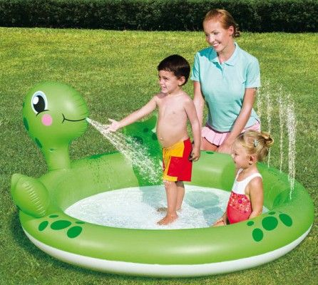 Piscina Inflable Tortuga Piscinas Infantes