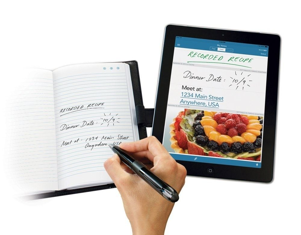 A Smart Pen That Ll Save Anything You Write To Your Phone Gadget Gifts School Gadget Smart Pen