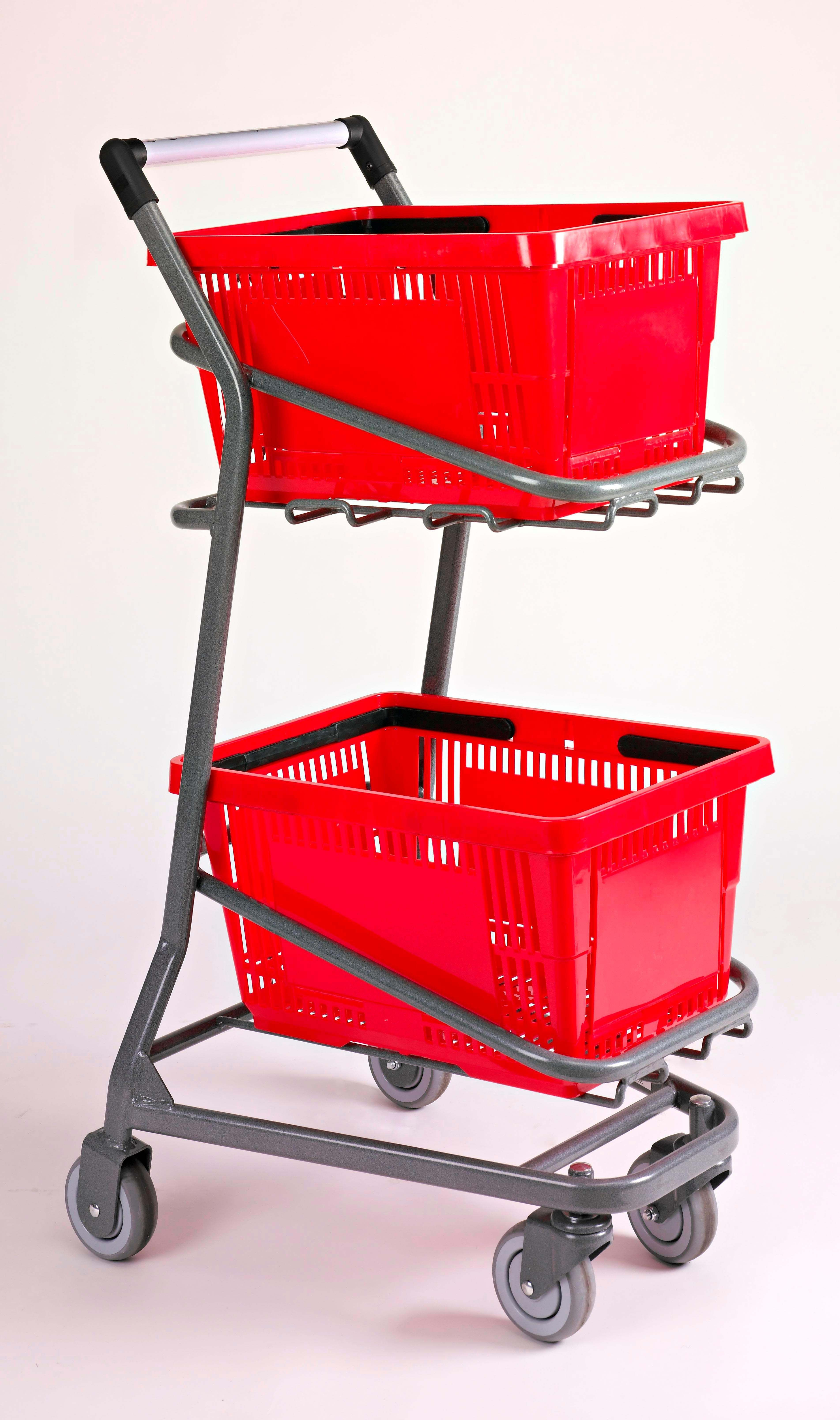 Ez Cart Hand Basket Cart Indoff Store Fixtures And Equipment Shopping Cart Grocery Basket Supermarket Design