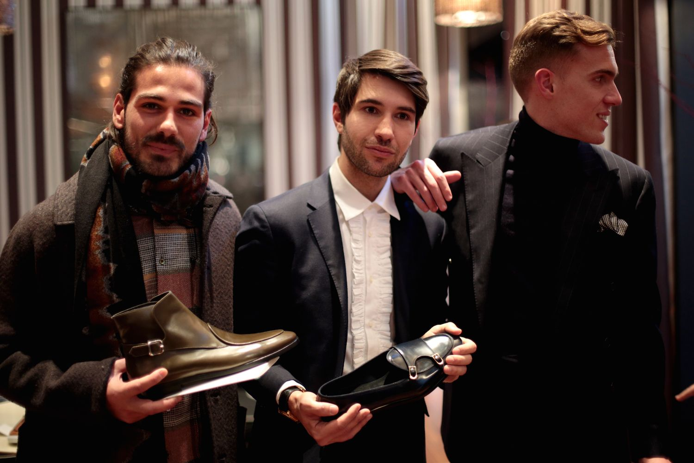 Edhèn Milano - Fall Winter 2016/2017 presentation  Giotto Caledonia with Filippo Fiora and Filippo Cirulli, founders of Edhèn Milano  #edhènmilano #mensshoes #menstyle #madeinitaly #classicmenswear #preppy #edhenmilano #gentlemanshoes