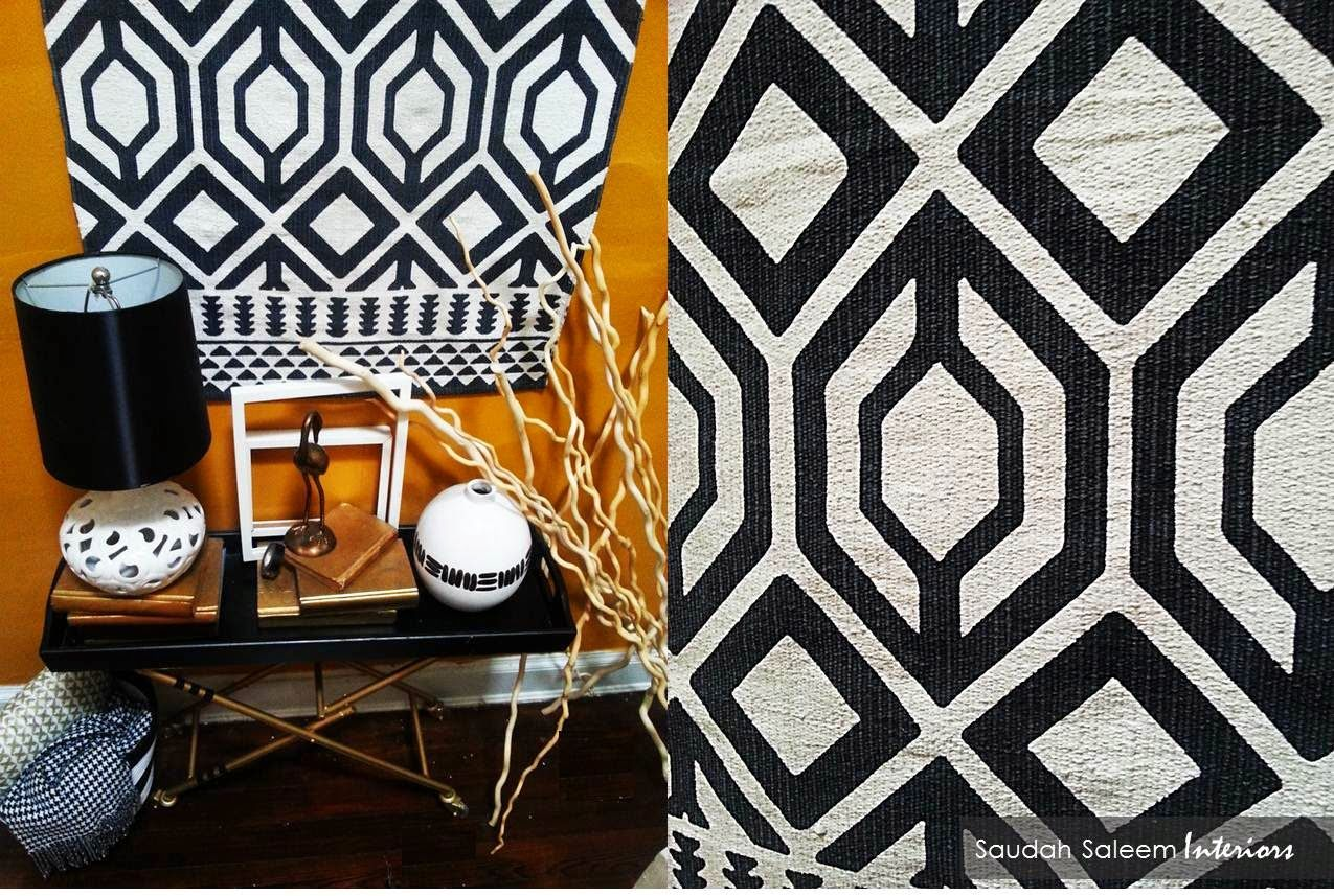 Style tip rugs are not only for the floor create a great feature