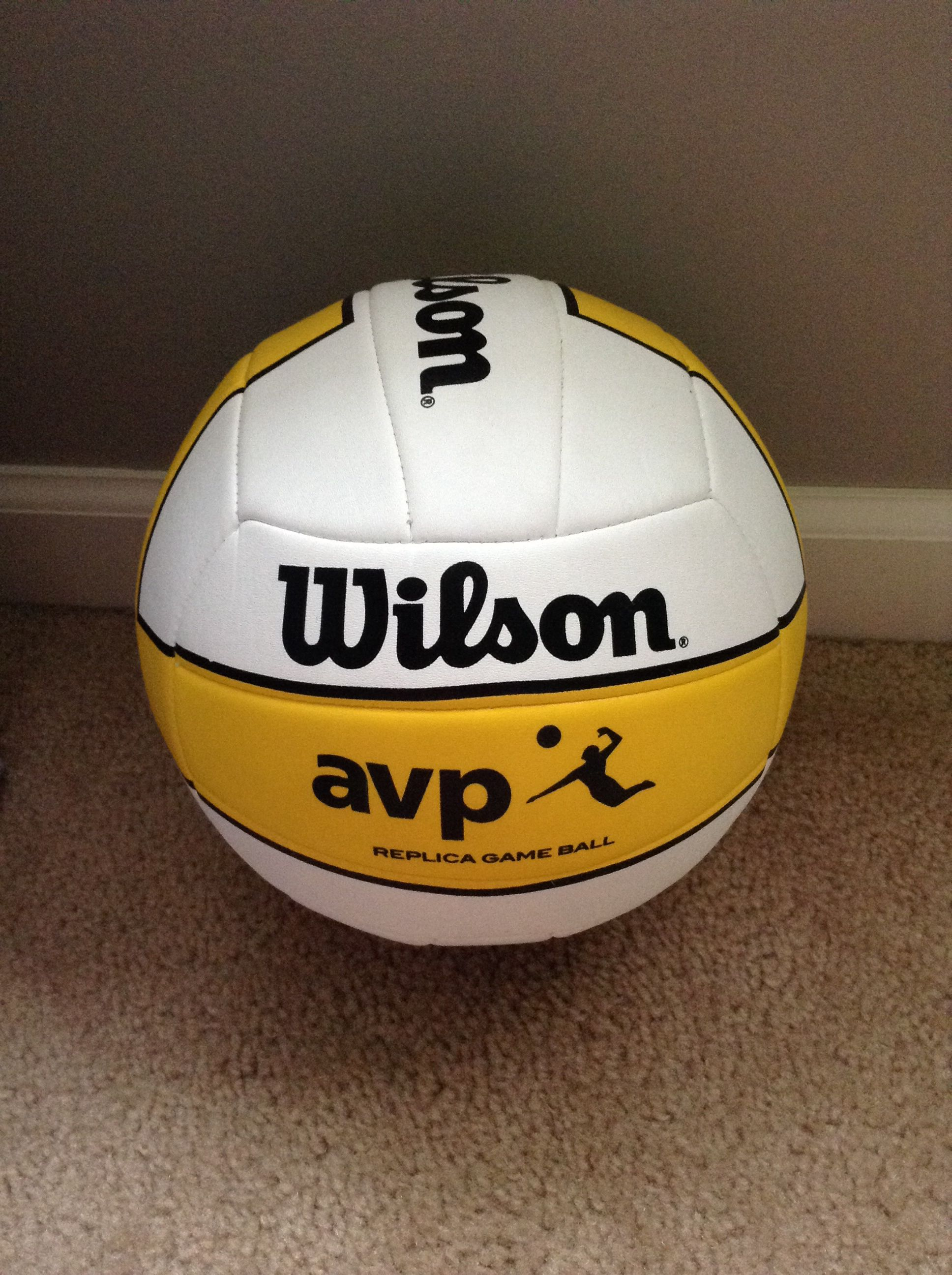 Wilson Volleyball With Images Wilson Volleyball Volleyball Soccer Ball