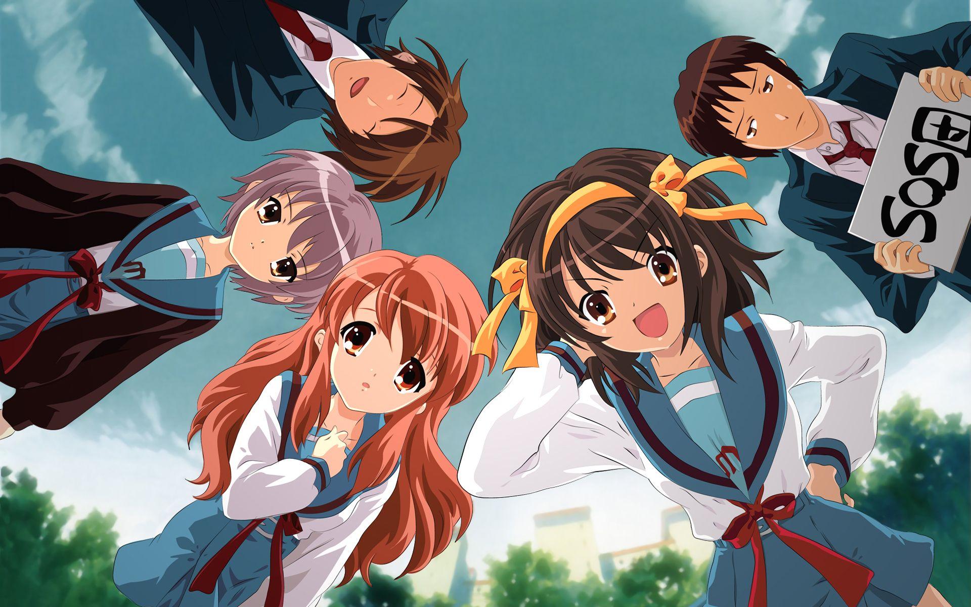 The Melancholy Of Haruhi Suzumiya Review Anime Characters Anime