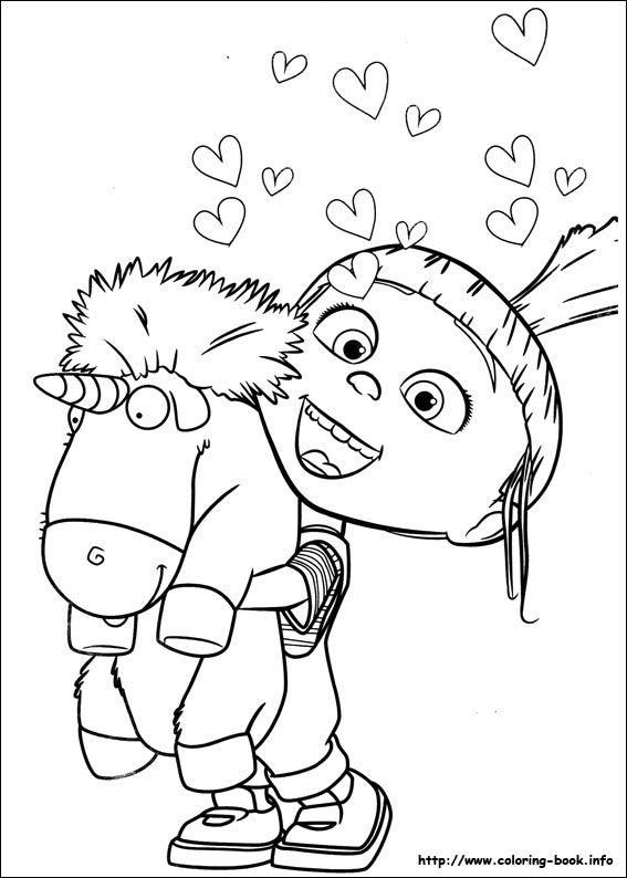 Minions Coloring Picture Com Imagens Desenho Dos Minions