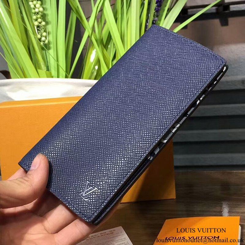 b191ff814b2b Louis Vuitton Brazza Wallet M30161 Taiga Leather Louis Vuitton Mens Wallet
