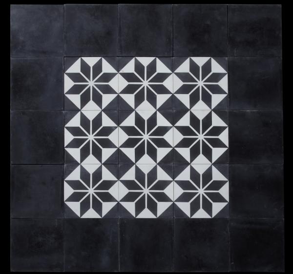 Etoile Noire Carrelage Du Marais Carrelage Carrelage Ciment Carrelages Geometriques