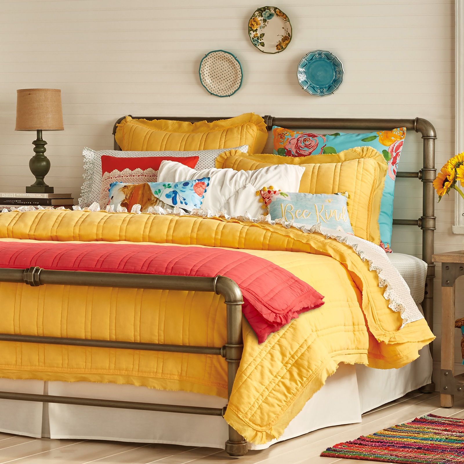 Mix and Match Magic Bedding by The Pioneer Woman   Hayneedle   Woman bedroom, Home decor ...