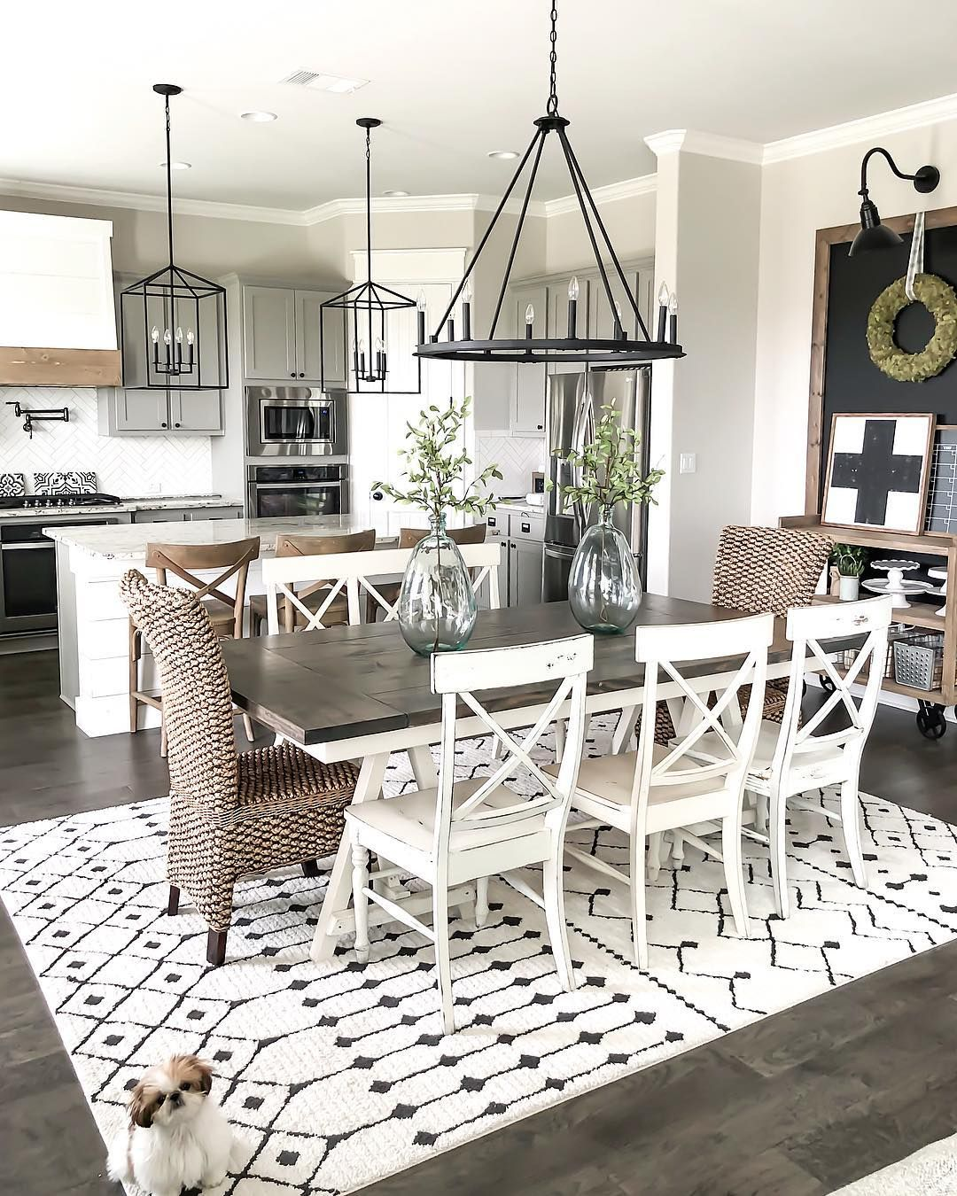80 Modern Farmhouse Staircase Decor Ideas 64: 4,225 Likes, 80 Comments - Holly
