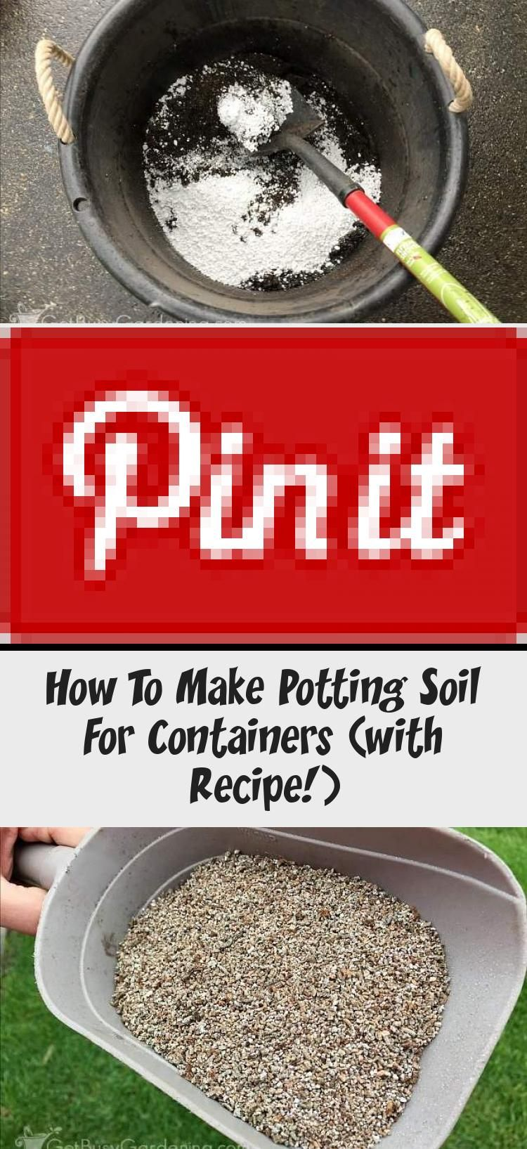 How To Make Potting Soil For Containers (with Recipe