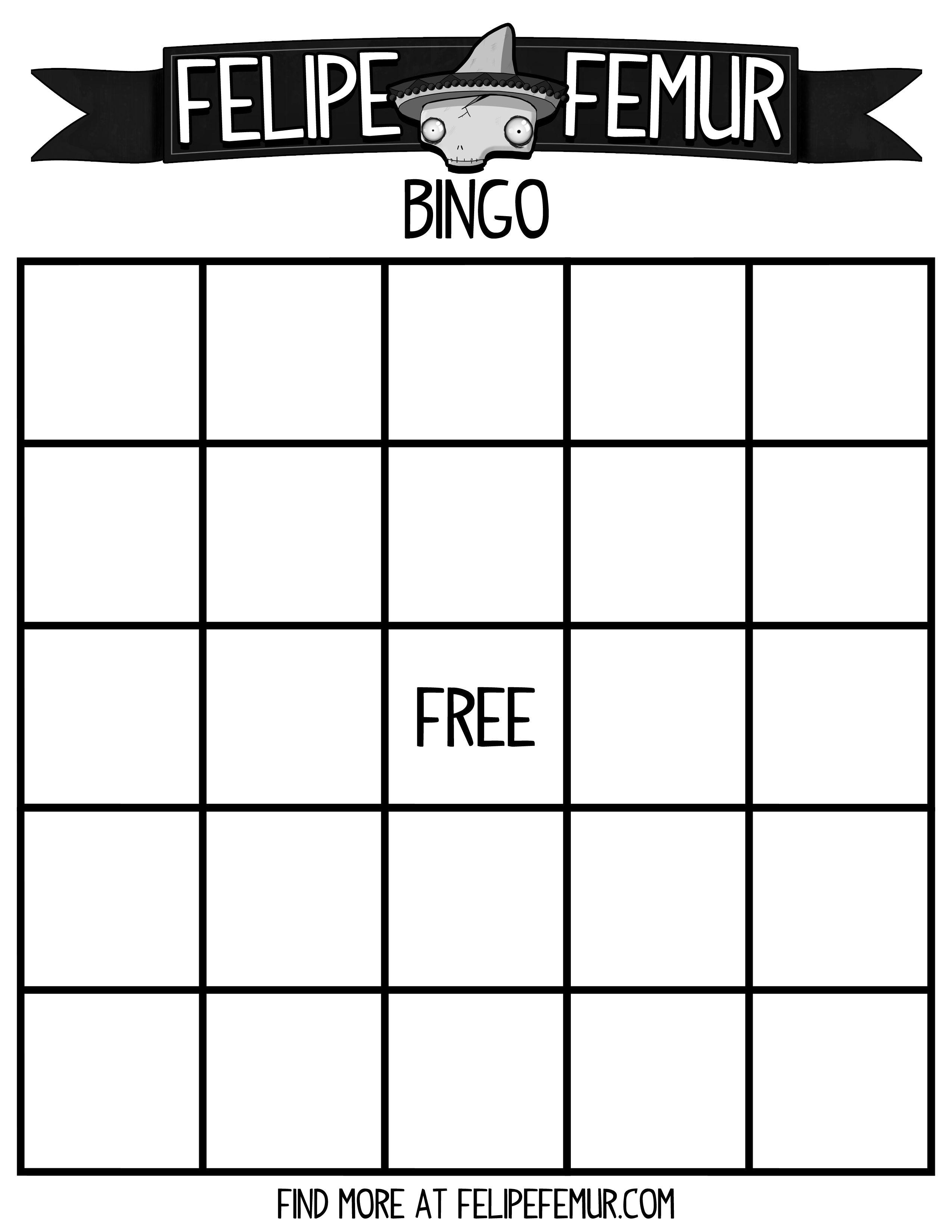 Free Bingo Cards Free Bingo Card Free Bingo Template