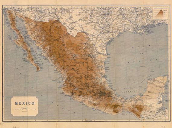 mexico map map of the world ancient map world by mapsandposters