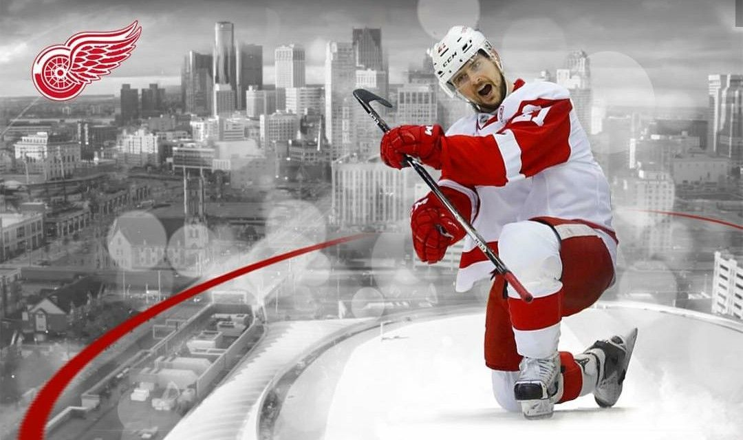 Cool Graphic Of Tomas Tatar Detroit Red Wings Red Wings Little Caesar S
