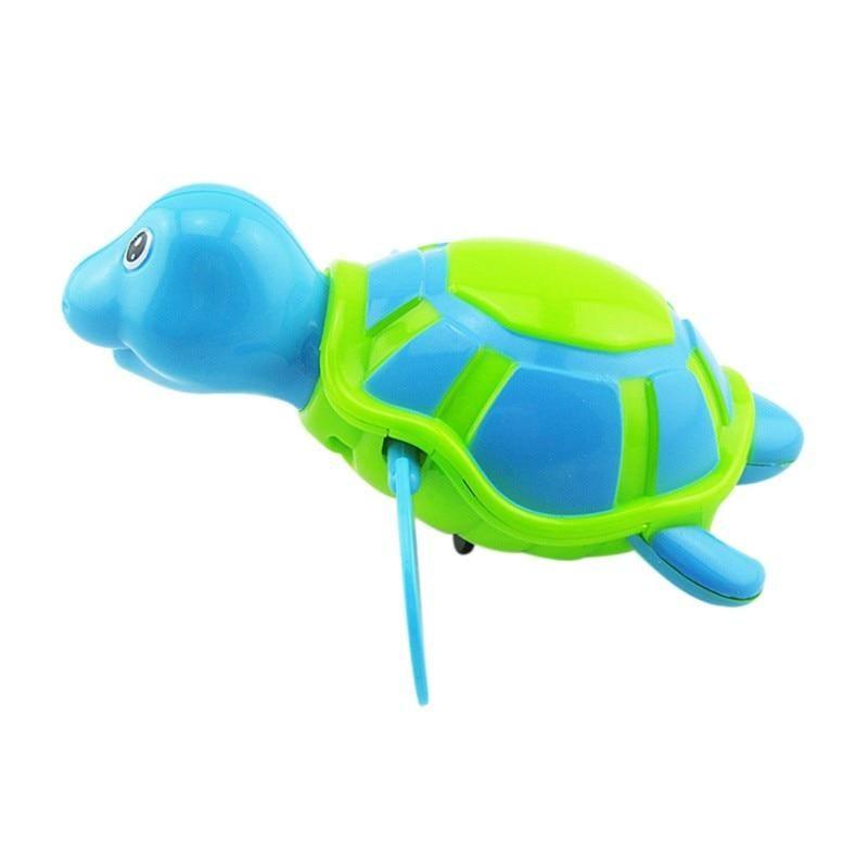 Toys Baby Children Bath Toy Swim Turtle Wound-up Chain Small Animal Toy