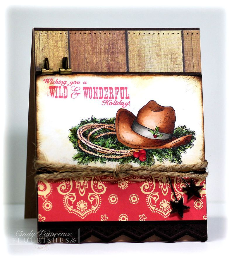 Awesome new stamp set at Flourishes for all those cowgirls out ...