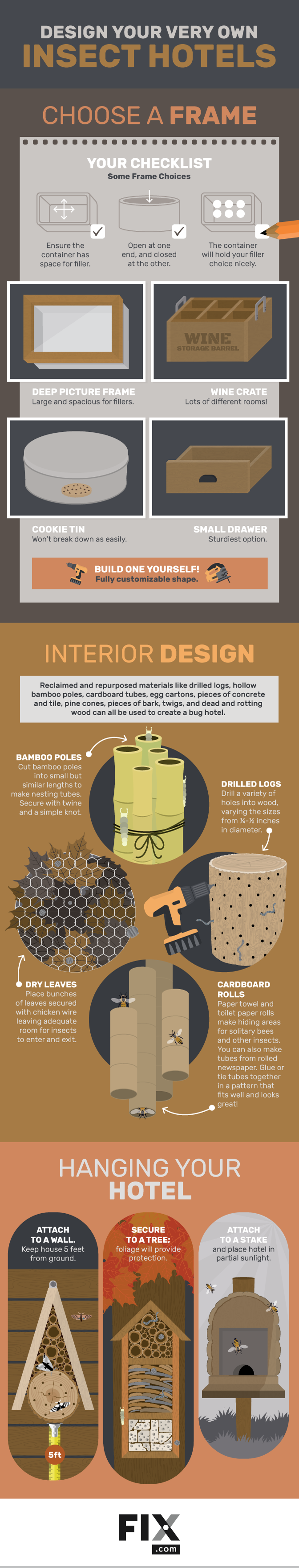 Design Your Very Own Insect Hotels