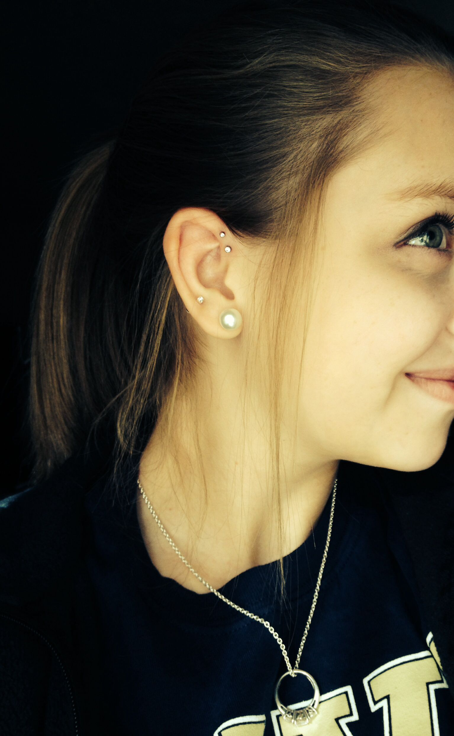 Nose piercing for guys  Double helix piercing This is definitely what I want now  Piercings