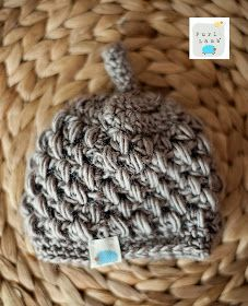 purl lamb puffy preemie hat pattern personal use only - Hakelmutzen Muster