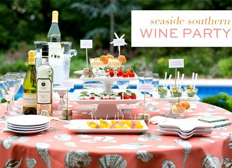 Nautical Summer Entertaining & Party Ideas from Pizzazzerie | Craft on backyard barbecue decor ideas, backyard movie diy, backyard bbq food table decorating, backyard bbq wedding ideas, backyard barbeque pool party,