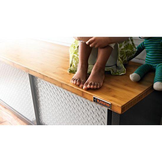 Admirable Gladiator Storage Bench Durable Lower Locker With Solid Uwap Interior Chair Design Uwaporg