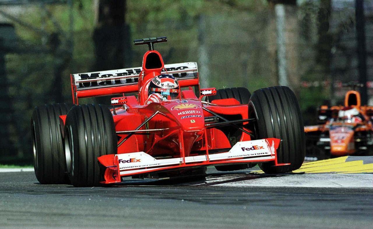 2000 San Marino Grand Prix  Ferrari F1-2000  Michael Schumacher