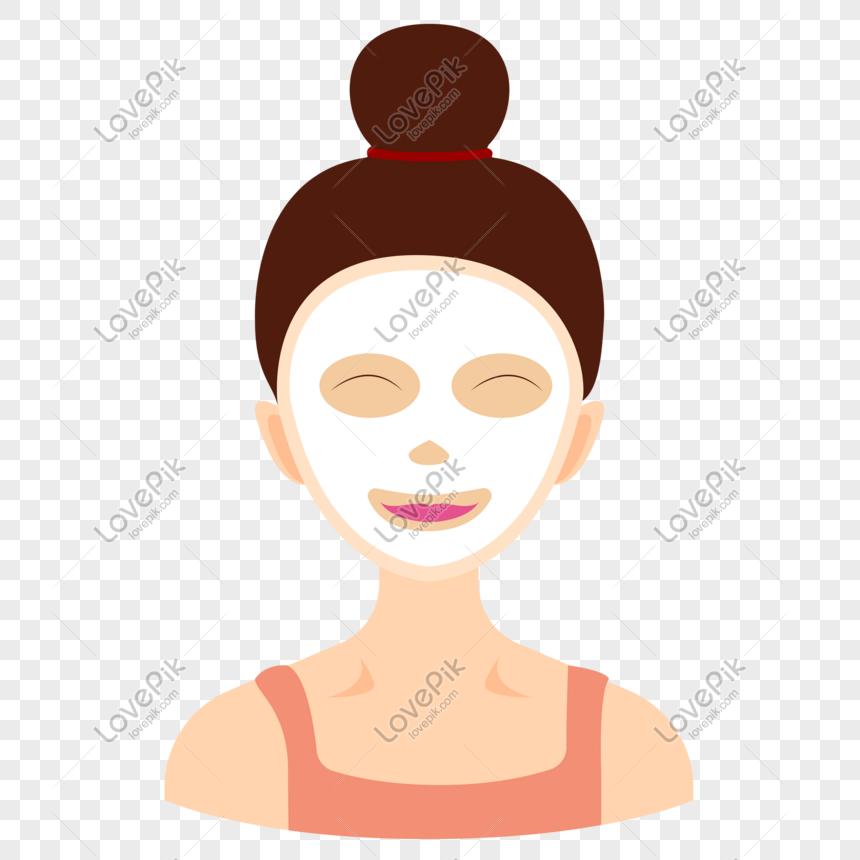 gadis melakukan masker wajah png gadis melakukan masker wajah gambar gadis melakukan masker wajah grafik gambar gadis melakukan mas in 2020 anime facial masks image gadis melakukan masker wajah png gadis