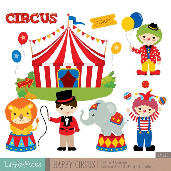 circus digital clipart circus clipart carnival clipart clown rh pinterest com circus clipart black and white circus clipart borders