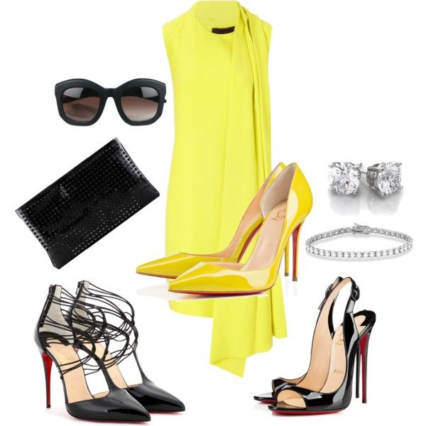 """""""Christian Louboutin"""" by nica40 on Polyvore"""