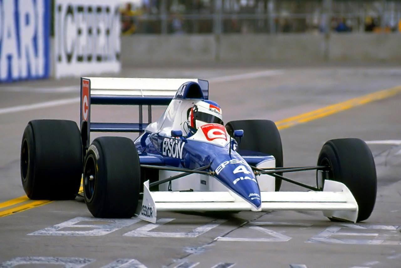 jean alesi tyrrell ford 018 1990 us grand prix phoenix tyrrell f 1 team pinterest grand. Black Bedroom Furniture Sets. Home Design Ideas