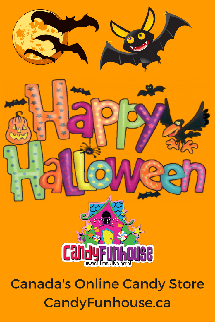 Happy Halloween Sweeties from Canada's Online Candy Store