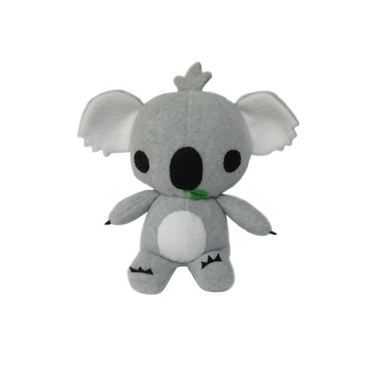 Koala Plush Toy Pattern and Tutorial   Osos y erizos   Pinterest   Osos
