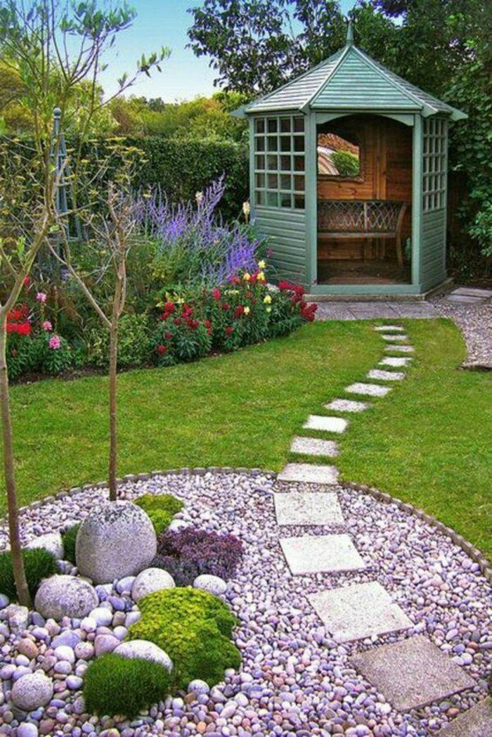 1001 ides pour dcorer son jardin des accessoires jardin faire soi mme ides de jardin pinterest gardens backyard and landscaping - Decorer Son Jardin