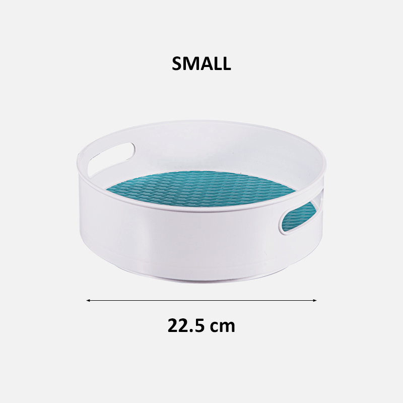 Turntable Organizer - Blue small