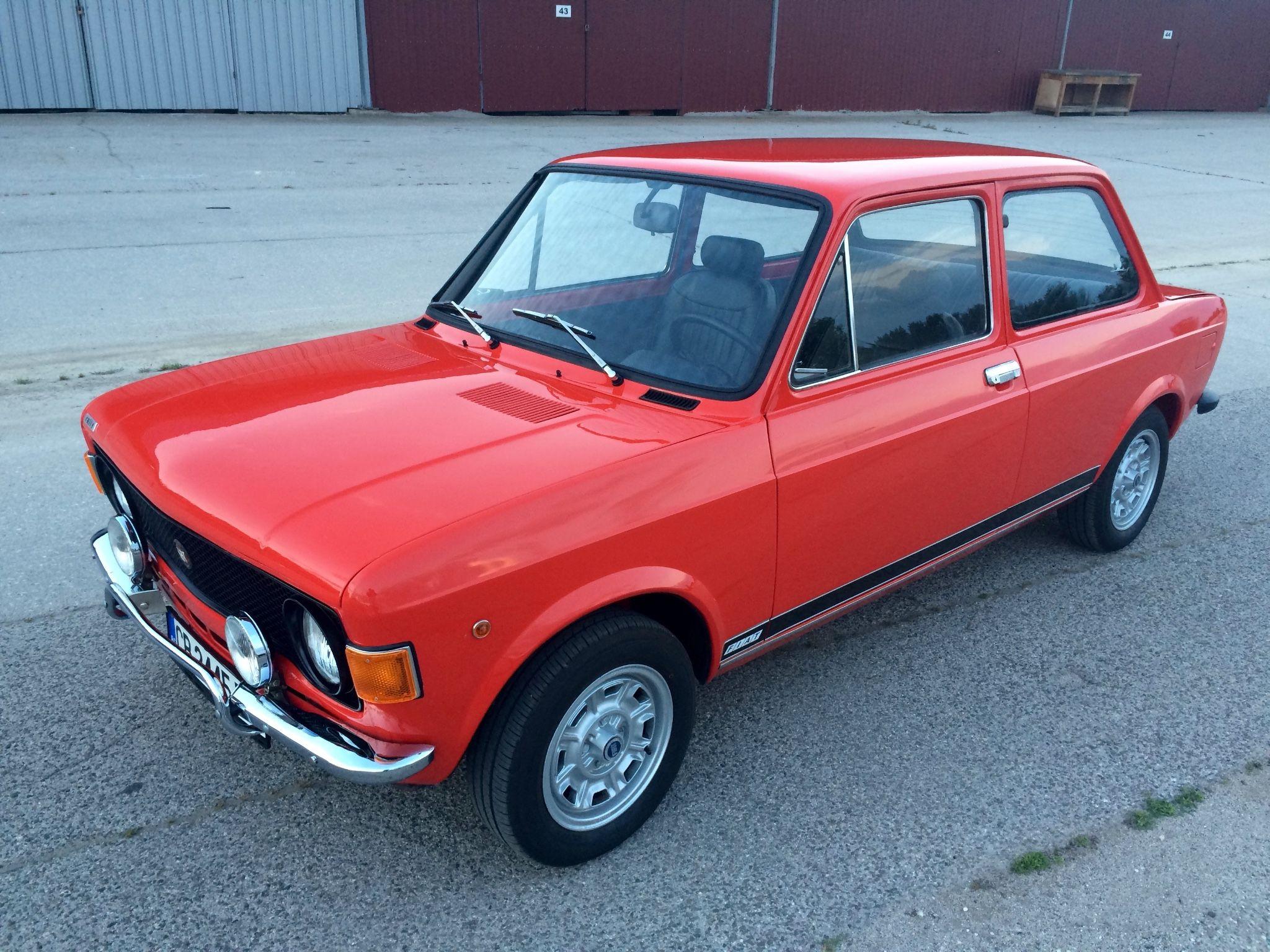 1973 Fiat 128 Rally Fiat 128 Fiat Cars Fiat