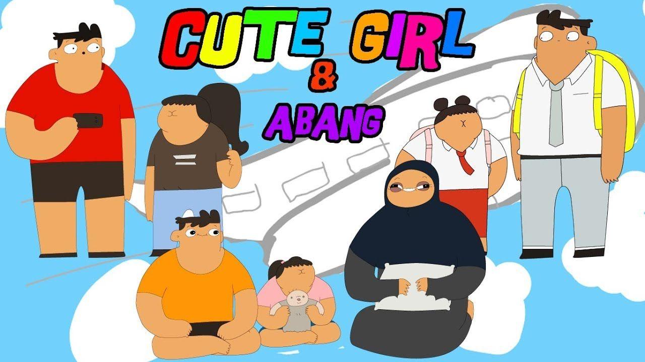 Cute Girl Abang Menggambar Kartun Untuk Anak Anak Kartun