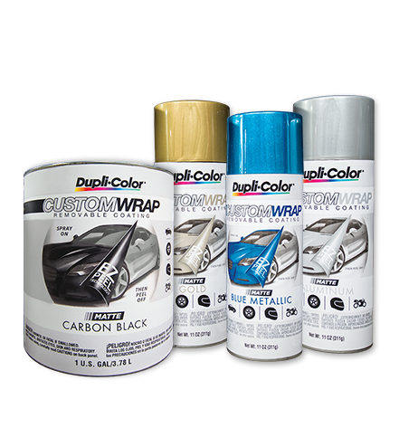 Dupli-Color® Custom Wrap is specifically formulated for automotive ...