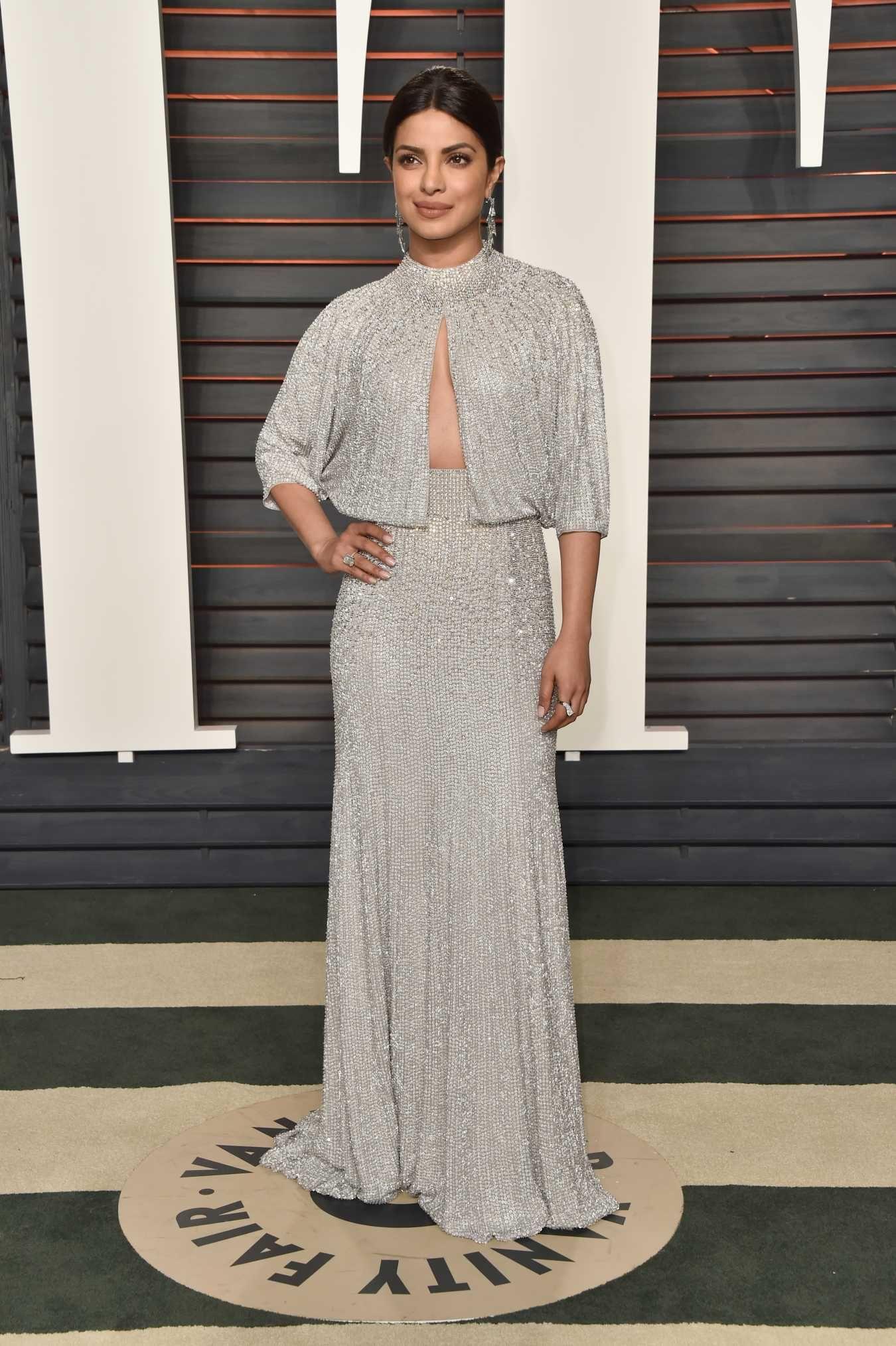 581a5bc9a30ce Priyanka Chopra at the 2016 Vanity Fair Oscar Party. Photo: Pascal Le  Segretain/Getty Images.