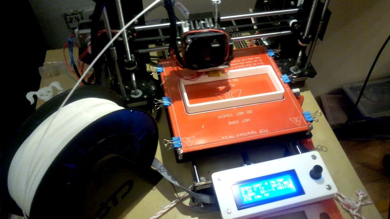 3DDruck TImelapse Zeitraffer Druck der FreecadTutorial