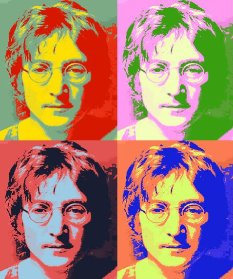 Andy Warhol Pop Art Quotes: Andy Worhol's John Lennon. Look At Those Colors! OMG
